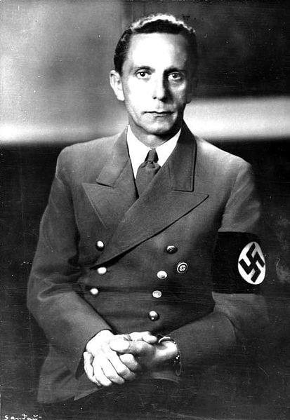 Joseph Goebbels, Nazi Titanic commissioner
