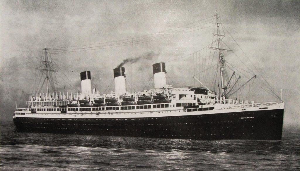The Cap Arcona was in the Nazi Titanic