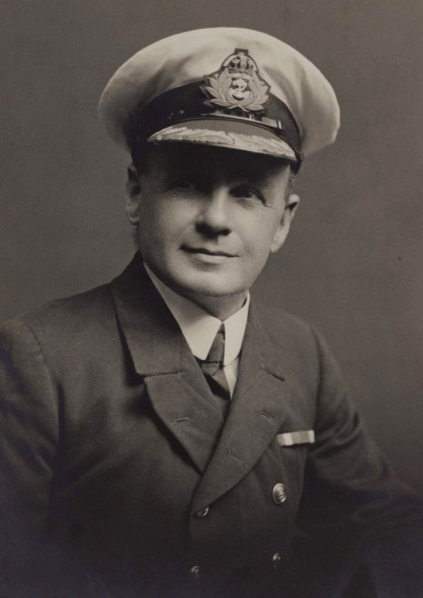 Charles Lighttoller, who survived on Collapsible Lifeboat B