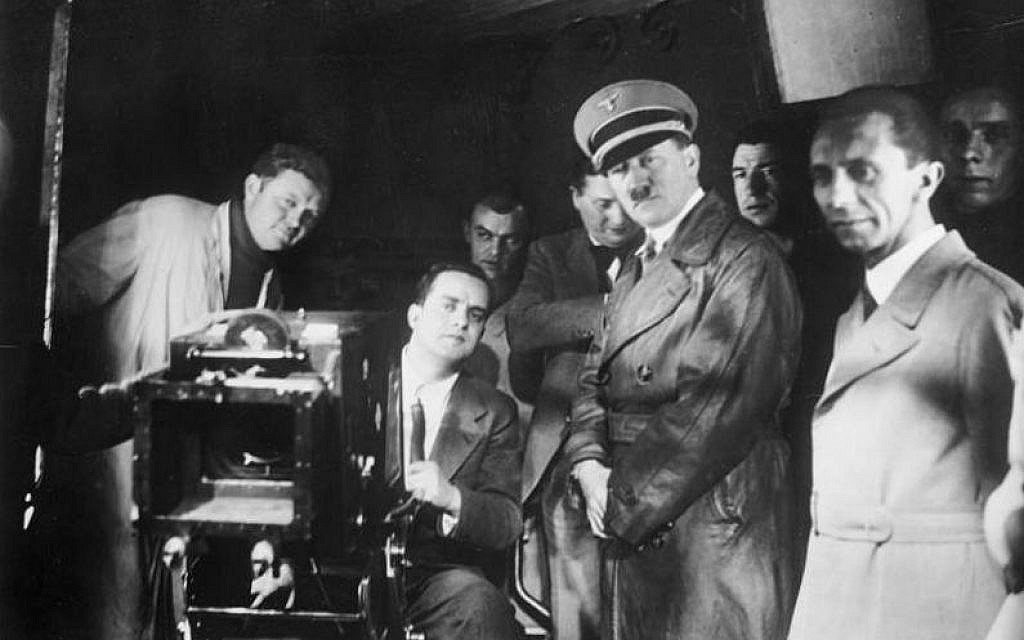 Hitler on the set of Titanic