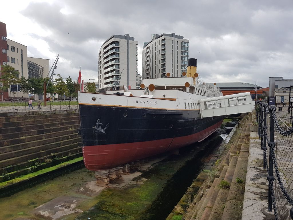 SS Nomadic as she is today