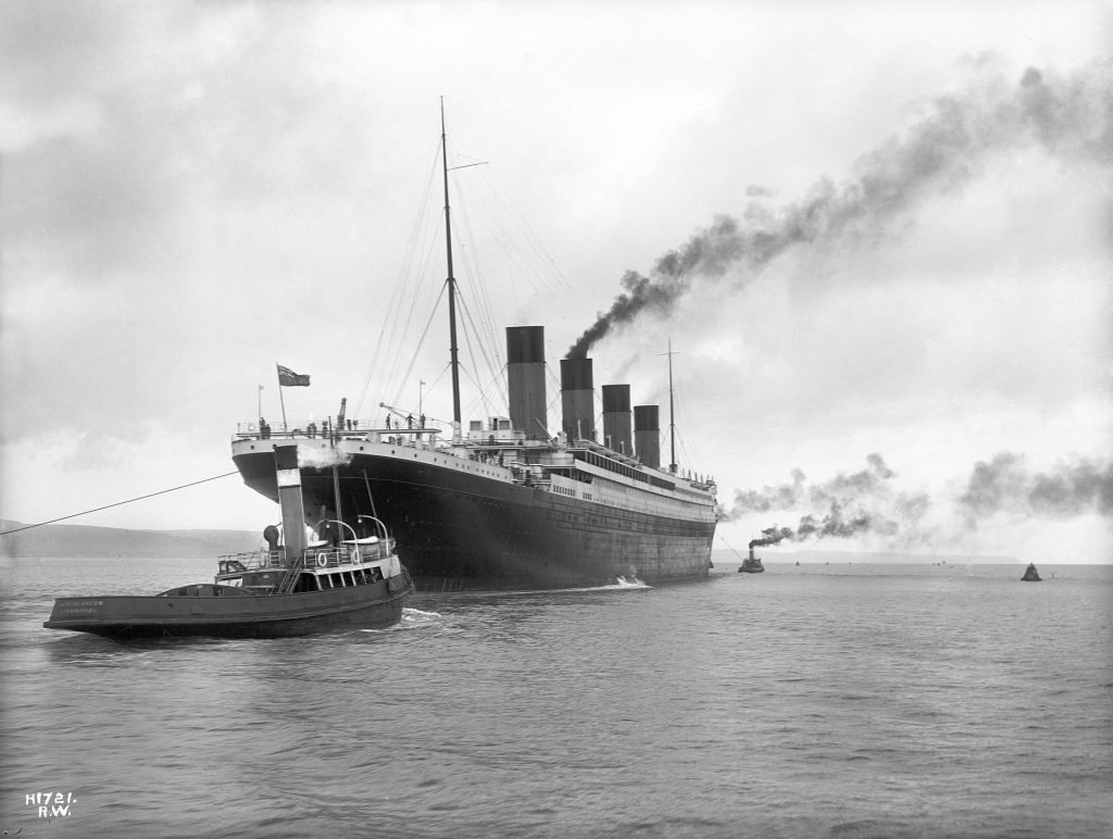 Carl Johnson sailed on the RMS Titanic in 1912 as a 3rd class passenger