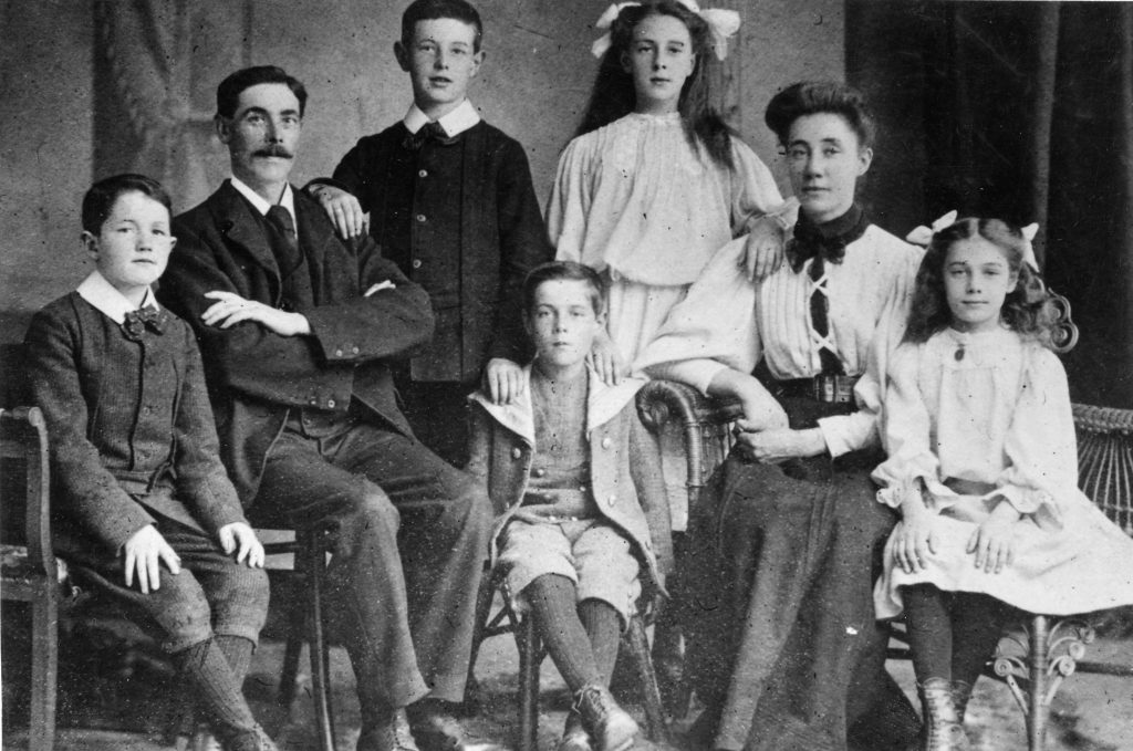 The family of Sidney Goodwin died on the Titanic