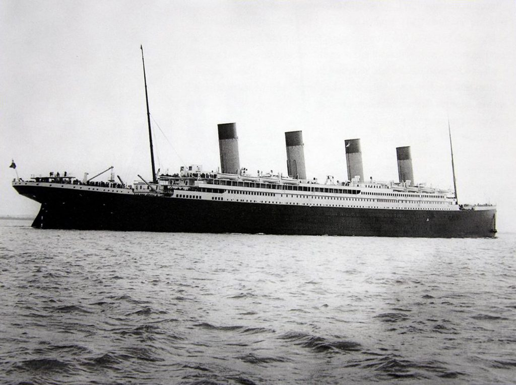 The unknown child died on Titanic