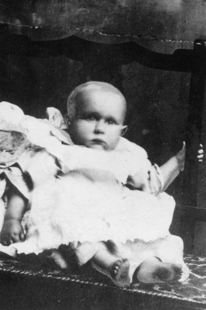 Sidney Goodwin was the unknown child