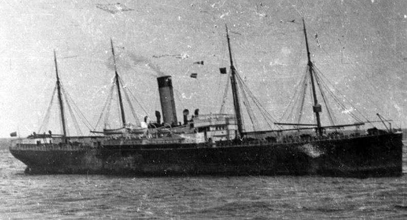 The Californian ship